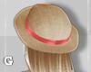 G l Peach Straw hat