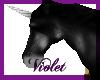(V) black unicorn/silver