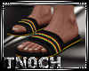 [T] Rasta Sandals