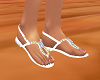 White Diamond Sandals