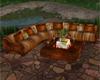 Watermill Firepit Sofa