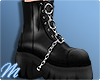☾ Chained boots