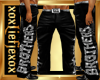 [L] BROTHERS Pants Bling
