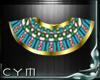 Cym Egyptian Teal Collar