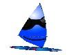 Blue Smiley SailBoard