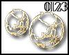 *0123* Earth Earrings