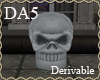 (A) Halloween Skull