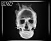 Skull Smoke Neon Sign