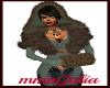 Fur Hand  Brown