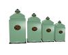 seafoam canister set