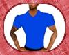 wolfs blue polo shirt