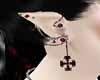 ear vampire piercins