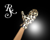 Leopard Winter Gloves