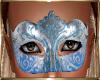 Blue Mardi Mask