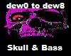 Skull & Bass (Euro)