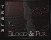 ⚜ Blood Furry Arm Wrap