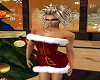christmas gold tree dres
