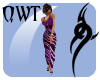QWT Dottie(PF) Purple