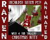 CHRISTMAS SHOULDER KITTY