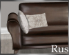 Rus Leather Long Sofa