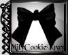 Mia Hair Bow Black