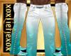 [L] AQUA White Pants M