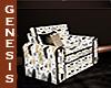 GD GoldDrms ChairsHearts
