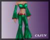Christmas Green Pantsuit