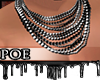 !P Chained Necklace