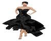 NM GALA BLACK DRESS