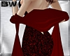 Red Vamp Shawl Scarf  V