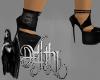 darkside skull heels