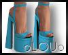.L. Bek Heels Blue