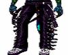 Punk pants purple