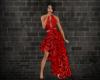 -1m- Black&red dress