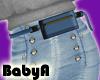 ! BA RLS Blue Belt Bag