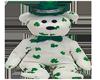 Shamrock teddy bear