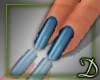 [D] Blue Nails