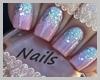 💅 Pink Diamonds Nails