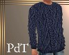 PdT Irish Navy Sweater M