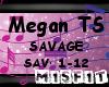 Megan TS - Savage