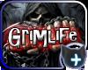 ~D~ Grimlife floor sign
