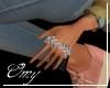 Silver Palm Bracelets