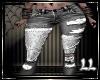 Black Jeans Patchwork LL