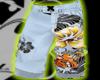 White Flower Swimshorts