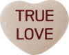True Love Candy Heart