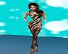 Zebra Mini with Leggings