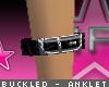 [V4NY] Buckled Anklet