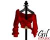 Harris Tweed Warm Red