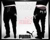 Puma Black Jogging Pants
